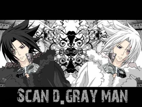 D Gray Man Scan
